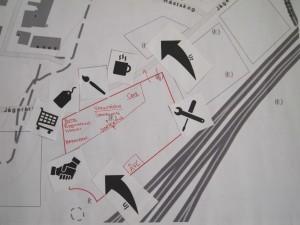 - En skiss av deltagarna som formulerade lösningen_en kreativ återbrukscentral